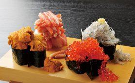 ゴージャスな軍艦が4種類! サプライズメニュー「こぼれ寿司」が人気の「沼津すし之助 青葉台店」