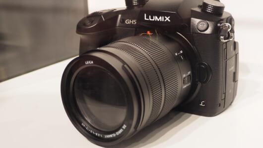 LUMIX誕生15周年! パナソニックが6Kフォトと4K/60p動画対応のミラーレス一眼「GH5」を参考出展