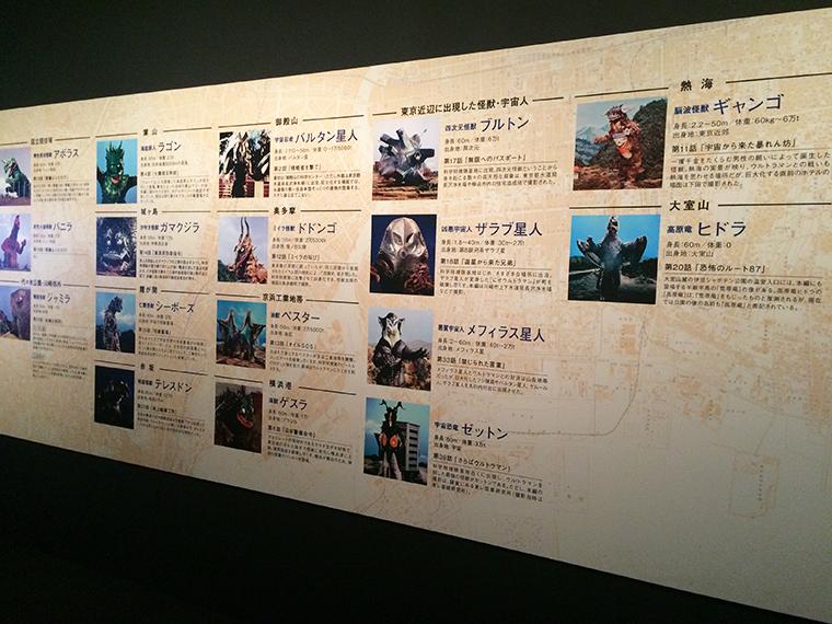 ↑東京近郊に出現した怪獣たちを、撮影地の詳細や当時のエピソードなどを交えて紹介している