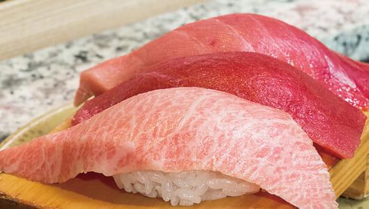 """塩や酢にもこだわる""""ホンモノ寿司""""ーー質もコスパも最上級な吉祥寺の「こだわり廻転寿司 まぐろ人」"""