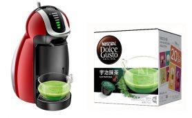 抹茶はコーヒーマシンで点てる時代にーー「ネスカフェ ドルチェ グスト」に宇治抹茶が追加!