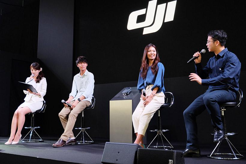 ↑中央左がDiggyさん、中央右が東真子さん
