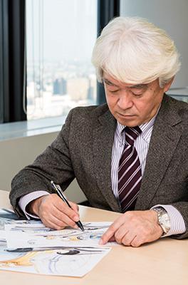 ↑ウオッチデザイナー初の「現代の名工」となった小杉修弘(こすぎ のぶひろ)氏
