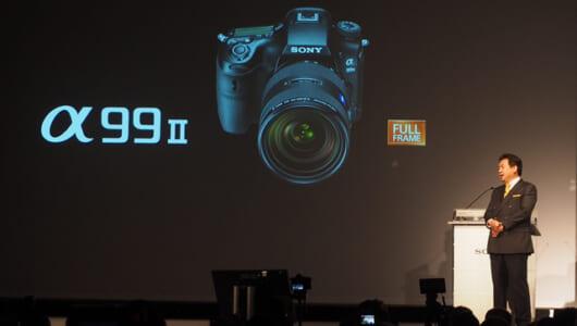 ソニーの最新カメラ技術全部入り! 一眼レフ(Aマウント)の旗艦モデル「α99 II」発表