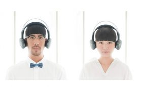 耳が痛くならない! 画期的なフレーム構造の新世代ワイヤレスヘッドホン「VIE SHAIR」