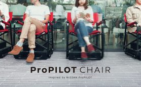 日産が自動的に動く椅子「プロパイロットチェア」を公開! そのまさかの利用法とは?