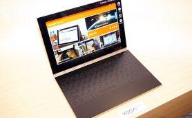 厚さ10mmのPC⁉︎ タッチキーボードが近未来的な2-in-1PC「Lenovo YOGA BOOK」