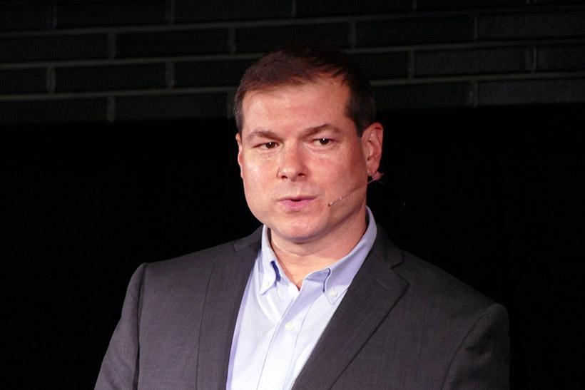 ↑アドビ システムズ社 Adobe Stock コンテンツ戦略担当のスコット・ブラウト氏