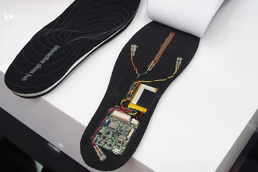↑靴の中敷き用デバイス