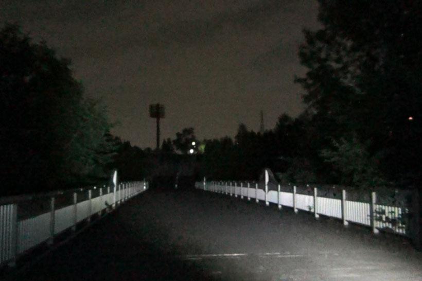 某運動公園の「飛び 降りの橋