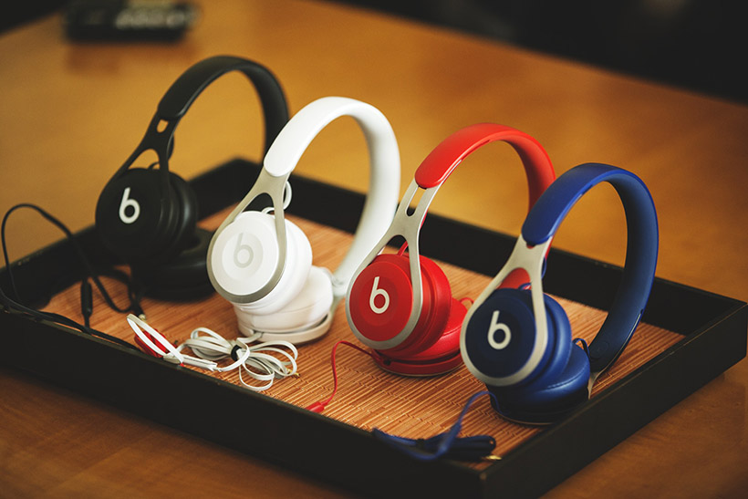 ↑「Beats EPオンイヤーヘッドフォン」