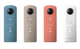 360°カメラの先駆者「RICOH THETA」にカジュアル価格の「SC」が加わった!