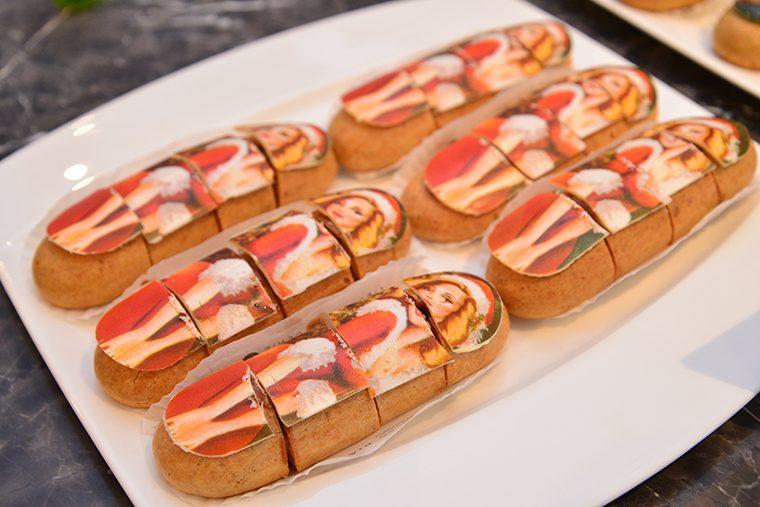 ↑メール ノエル(594円) 塩キャラメル風味が特徴の滑らかな口当たりのショコラクリーム