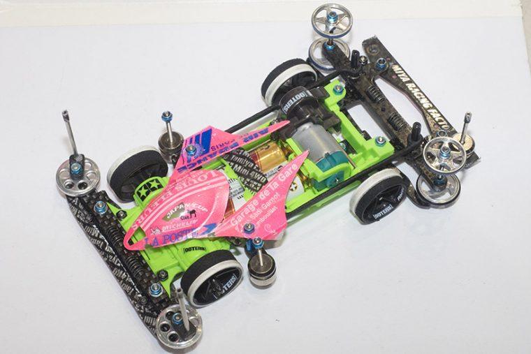 ↑これが見事オープンクラスを制した松尾さんのマシンだ!