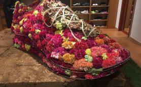 スニーカーと植物の異色コラボーーSOPHNET.主催×西畠清順氏監修のアートイベントが9日間限定で開催中