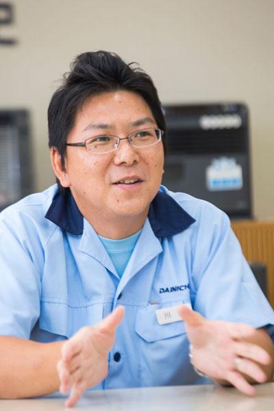 ↑ダイニチ工業 暖房機開発課 要素開発係 係長の川瀬寛道氏