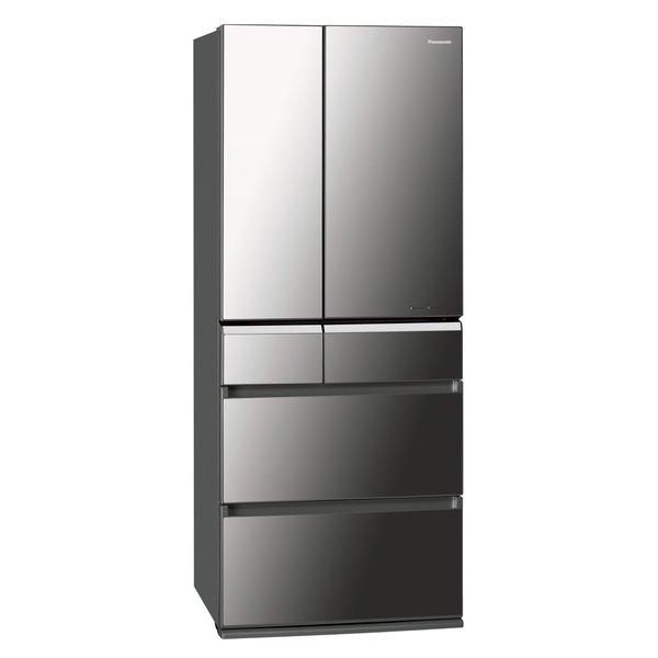 ↑パナソニックの冷蔵庫「NR-F602XPV-X」(実売39万3980円)は、肉や魚が約1週間新鮮長持ちする微凍結パーシャル室(-3℃)も搭載しています