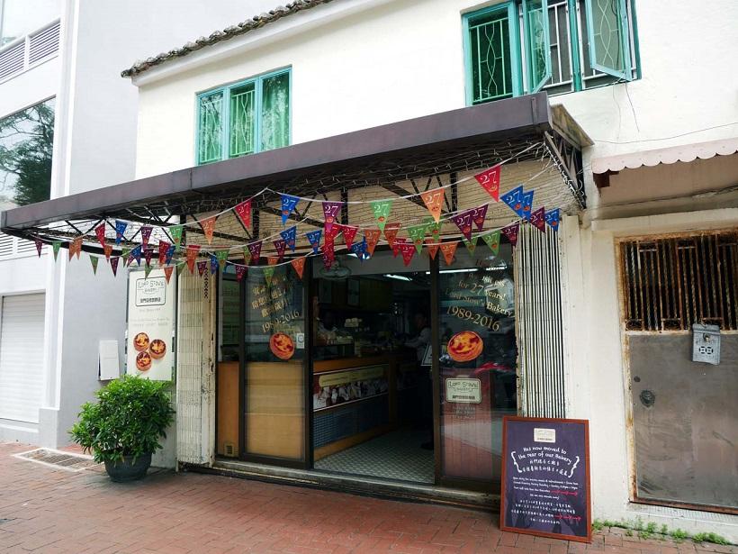 ↑マカオ・オリジナルのエッグタルト発祥の店「ロード・ストウズ・ベーカリー」