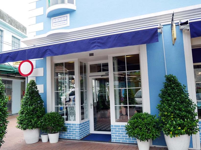 ↑本店のほど近い場所にあるカフェ形式の系列店