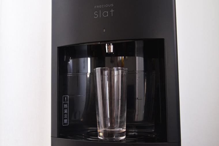 ↑400mlとやや大きめのロンググラスでもすっぽり。奥行きも十分で、ミルクパンのような鍋も入ります