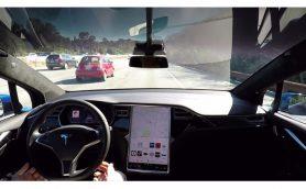 【動画】これが未来のドライブだ! テスラ モデルSやモデルXがついに完全自動運転に対応