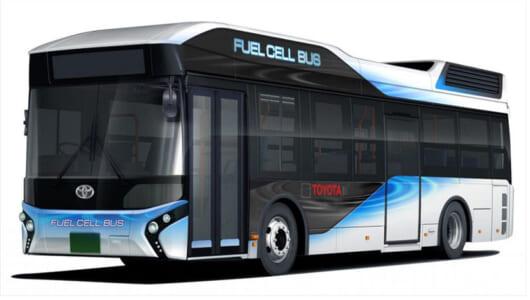 トヨタの燃料電池車(FCV)第二弾はバス! 2017年より都営バスとして活躍へ