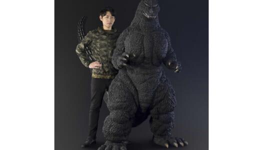 """バンダイ「Human sizeプロジェクト」第1弾 """"ゴジラ(1991北海道ver.)""""は当時のスーツサイズを再現!"""