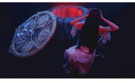 """奇跡のコラボ公開中!貞子と伽椰子が""""倒れるだけで…ワンダーコア~"""""""