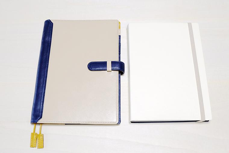 ↑ EDiT手帳A5サイズ(右)と並べてみました