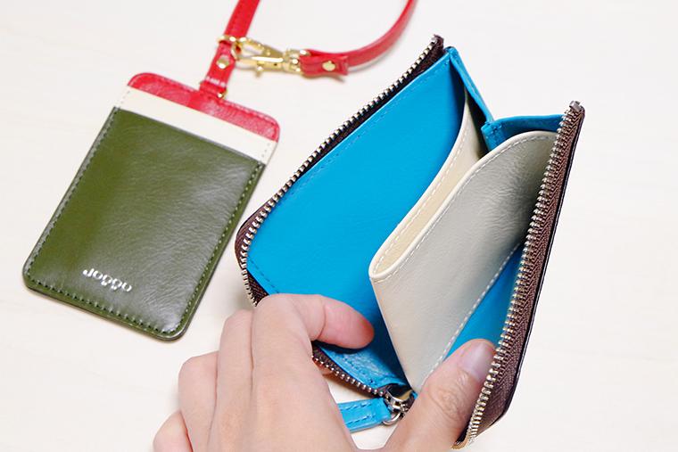 ↑お札とカード、それぞれ5枚程度収納可能