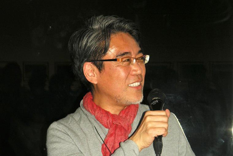 ↑KADOKAWA代表取締役専務の井上伸一郎氏は、ホスト役として登場