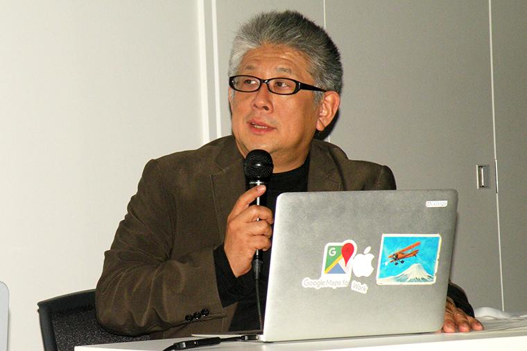 ↑司会を務めた森ビル株式会社 都市開発部メディア企画部の矢部俊男氏