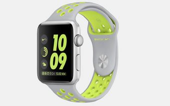 ↑Apple Watch Nike+