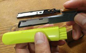 刃を折らなくていいカッターナイフ「オランテ」ーー切れ味長持ち&サビにくいなど機能性にもぬかりなし!