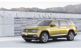 VWの新型7人乗りSUV「アトラス」がフォトデビュー! 大型ボディに最新の運転支援システムを搭載