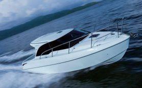 トヨタはボートもハイブリッド!? 高剛性&新感覚の乗り心地を実現した「PONAM-28V」