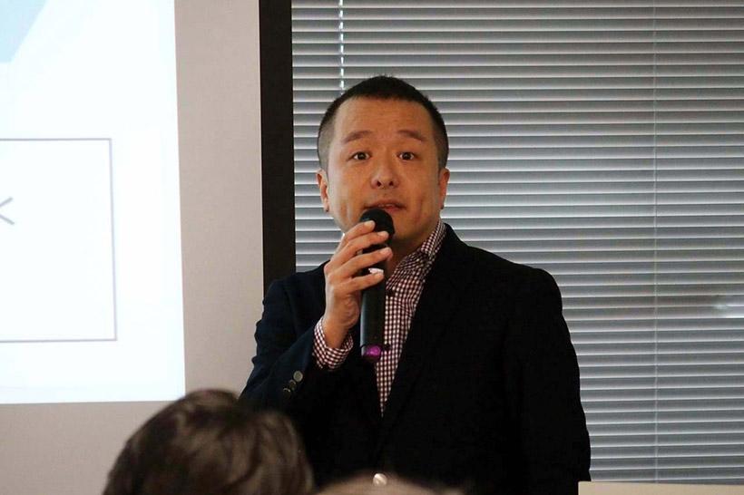 ↑SBS事業本部マーケティングコミュニケーション課 課長 岩永公就氏