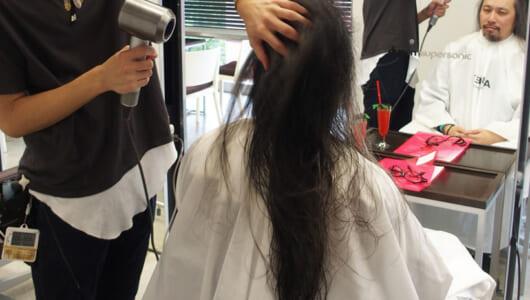 10年間伸ばし放題の髪、ダイソンのドライヤー体験に行ったらどうなった?