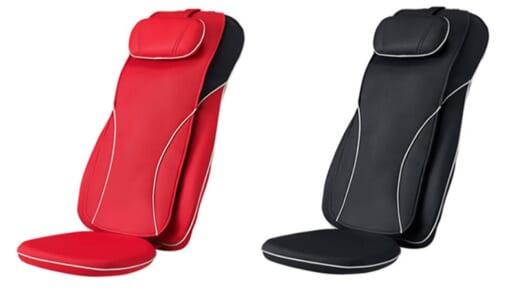 業界最長サイズ! 首から腰までもみほぐすシート型マッサージャー