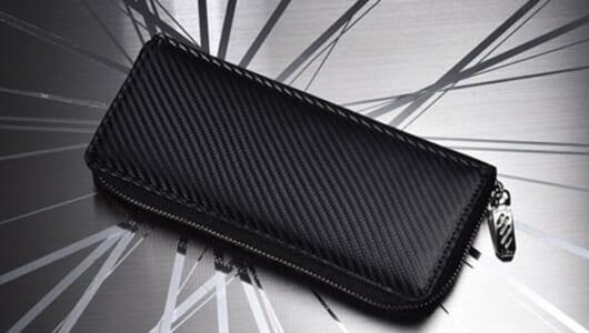 収納枚数は約40枚!? ノイインテレッセ「ツイルドカーボン ギャルソン長財布」の驚異的な収納力