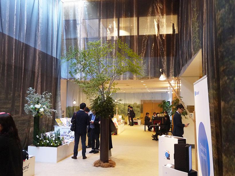 ↑インタビューの会場となったスウェーデン大使館の内部