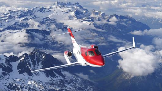 空でも速い! ホンダのビジネスジェットがアメリカで飛行時間の最短記録を更新