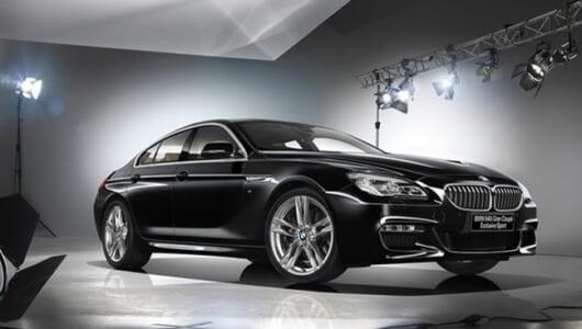 BMW「6シリーズ・グランクーペ」に洗練された限定車「エクスクルーシブ・スポーツ」が登場!