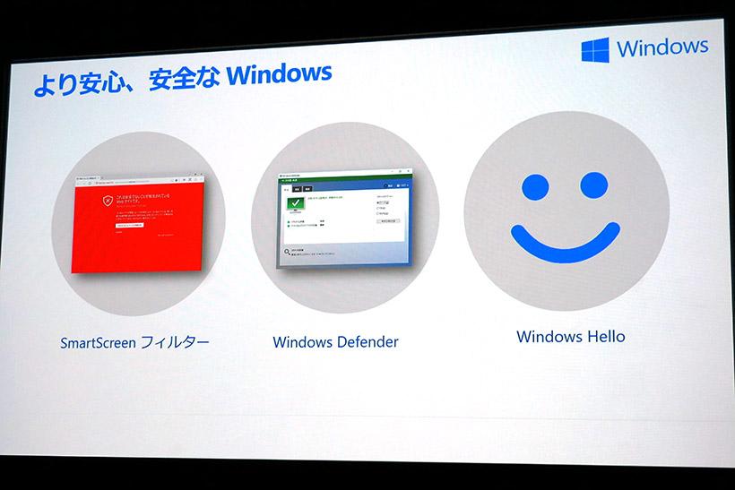 ↑パソコンを脅威から守る3つのセキュリティ