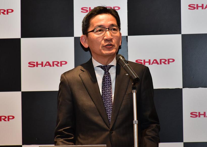 ↑シャープ 健康・環境システム事業本部 スモールアプライアンス事業部 事業部長の鈴木隆氏
