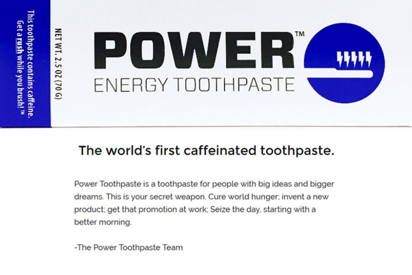 出典画像:「Power Energy Toothpaste」公式サイトより