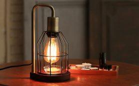 暖かな光、ほのかな香りにうっとり! レトロな風貌のエジソン式ランプが極上空間を作る!