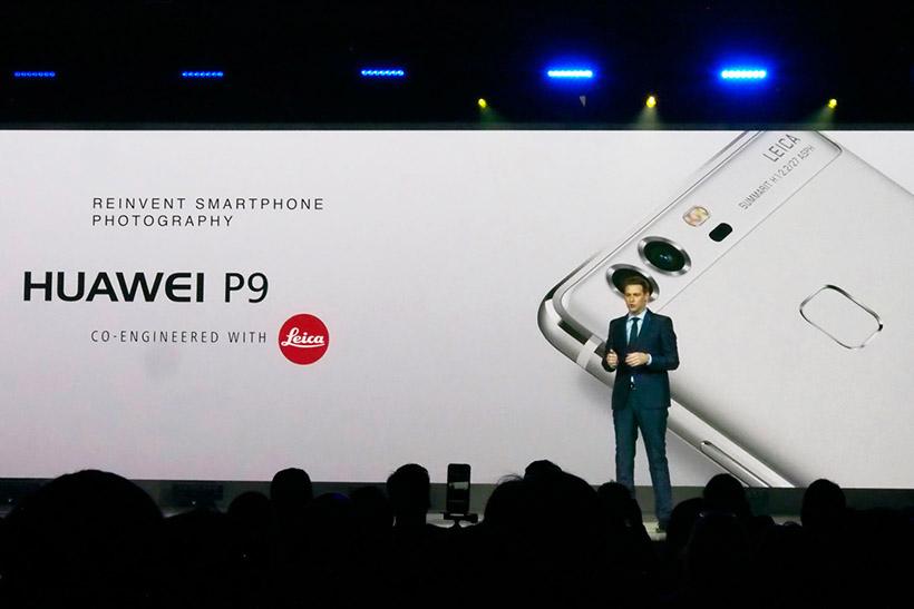 ↑P9はライカがファーウェイをパートナーとして認めた製品だ