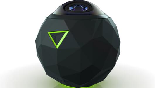 VR映像を自分で撮ってみよう! ボールみたいな全天周アクションカメラ「360fly」