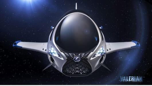 レクサスが宇宙船をデザイン!? 機首にはやっぱりあのグリルが…